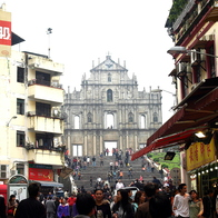 Ruins of St. Paul's Church, Macau, Macau