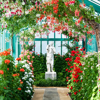 Royal Greenhouses of Laeken, City of Brussels, Belgium