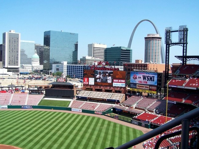 Busch Stadium, St Louis, Missouri