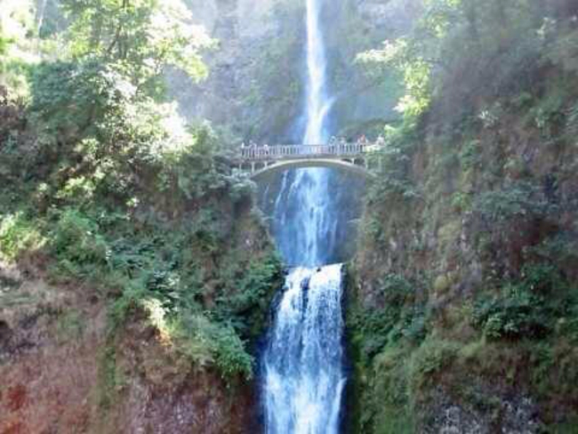 Multnomah Falls Overlook, Corbett, Oregon