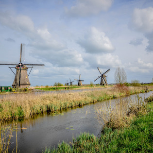 Kinderdijk, Kinderdijk, The Netherlands