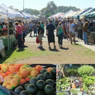 Farmers Market at Paul Eckes Elementary School, Encinitas, California