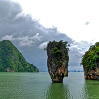 James Bond Island, Ko Panyi, Thailand