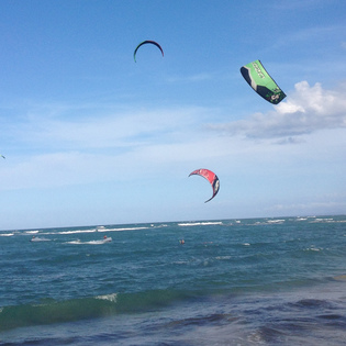 Kite Beach, Cabarete, Dominican Republic