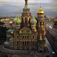 Church of the Savior on Blood, St Petersburg, Russian Federation
