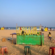Elliots Beach, Chennai, India, Chennai, India