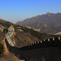 Great Wall at Badaling, Beijing, China