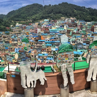 Gamcheon district, Busan, South Korea, Busan, South Korea