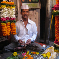 Dadar Flower Market, Mumbai, India