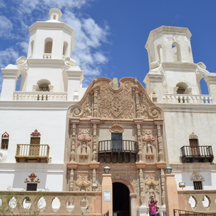 Mission San Xavier del Bac , Tucson, Arizona