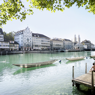 Limmatquai, Zurich, Switzerland