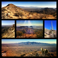 Wasson Peak, highest point in the Tucson Mountains, Tucson, Arizona