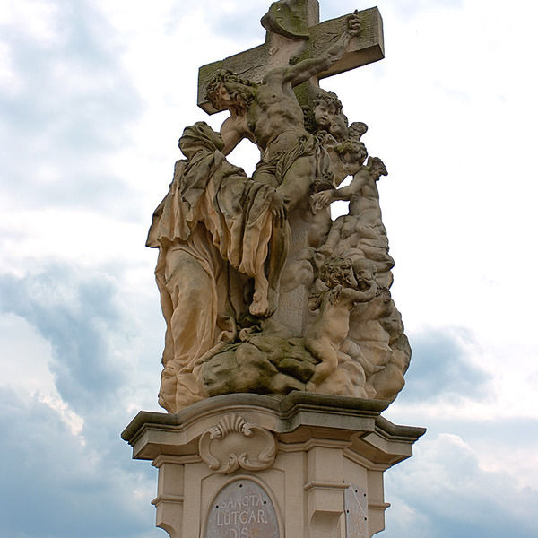 Archibald At The Charles Bridge, Prague, Czech Republic