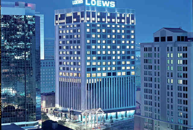 Loews New Orleans Hotel, New Orleans, Louisiana