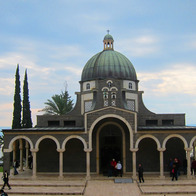Mount of the Beatitudes, Mevo'ot HaHermon Regional Council, Israel