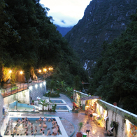 Thermal Baths, Aguas Calientes, Peru