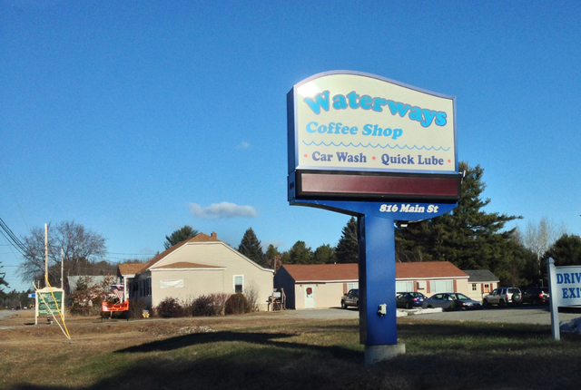 Waterways Coffee Shop, Waterboro, Maine