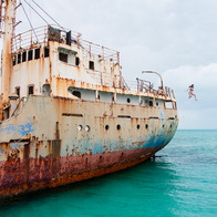 La Famille Express Shipwreck, Bottle Creek, Turks and Caicos Islands