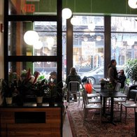 Small Point Cafe, Providence, Rhode Island
