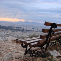Likavittos Hill, Athens, Greece