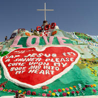 Salvation Mountain, Calipatria, California