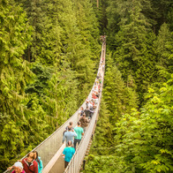 Capilano Suspension Bridge Park, North Vancouver, Canada