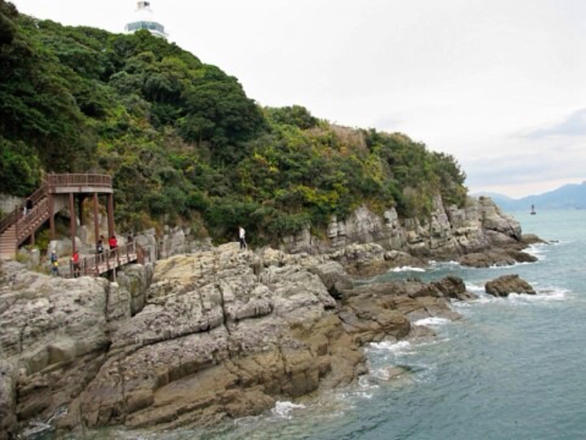 Odongdo Island, Yeosu-si, South Korea