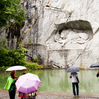 Lion Monument, Lucerne, Switzerland