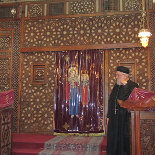 Saint Mary Coptic Orthodox Church, Cairo, Egypt