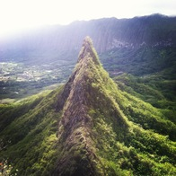 Mount Olomana Hiking Trail, Kailua, Hawaii