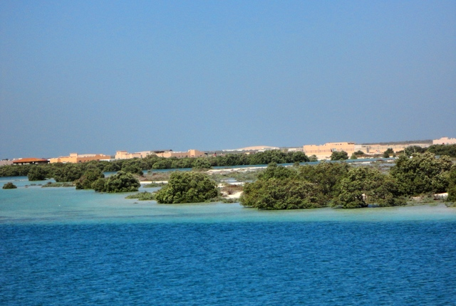Eastern Mangrove Lagoon National Park, Abu Dhabi, United Arab Emirates
