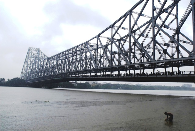 Howrah Bridge, Kolkata, India