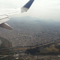 Mexico City From Above, Mexico City, Mexico