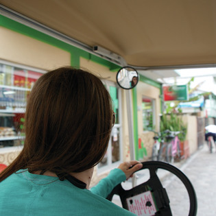 Island Golf Carts, San Pedro, Belize