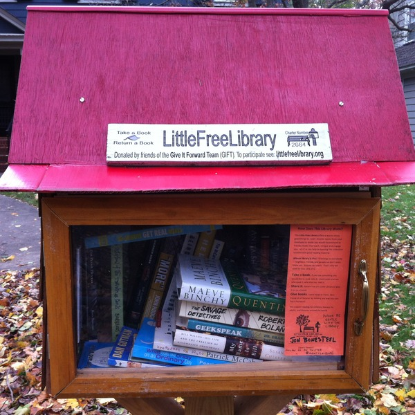 Little Free Library -- Montclair, Montclair, New Jersey