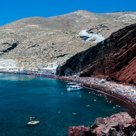 Red Beach, Santorini, Santorini, Greece