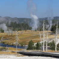 Upper Geyser Basin, Yellowstone National Park, Wyoming