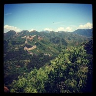 Jinshan Ridge Great Wall, Beijing, China