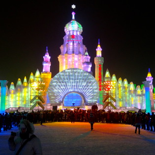 Harbin Ice & Snow Festival, Harbin, China