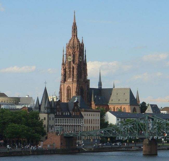 Frankfurt Cathedral, Frankfurt, Germany