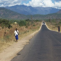M1 Highway south, near the Mozambique border, Lizulu, Malawi