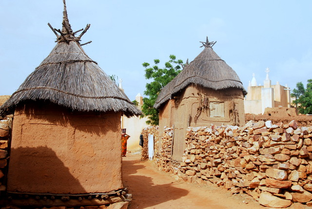 Dogon Village of Songho, Bandiagara, Mali
