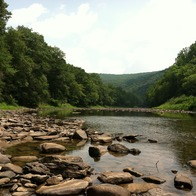 Greenbrier River, WV, Hinton, West Virginia