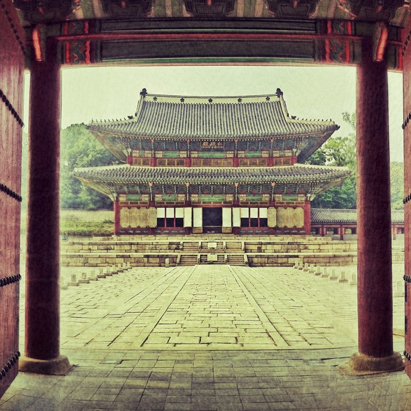 Changdeokgung, Seoul, South Korea