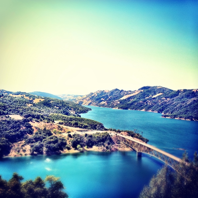 Lake Sonoma, Healdsburg, California