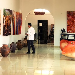 Artists Alliance Gallery, Accra, Ghana