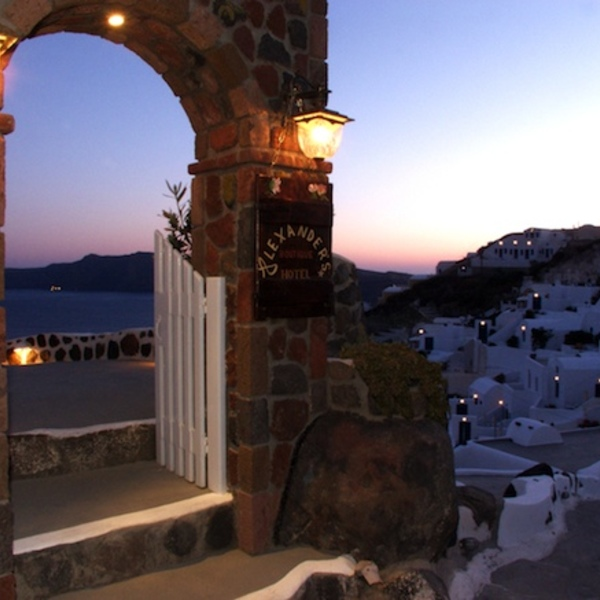 Alexander's Boutique Hotel, Oia, Greece