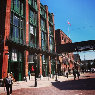 The Distillery District, Toronto, Canada