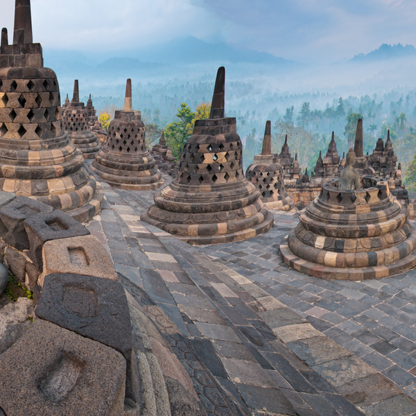 Borobudur, Java, Indonesia, Borobudur, Indonesia