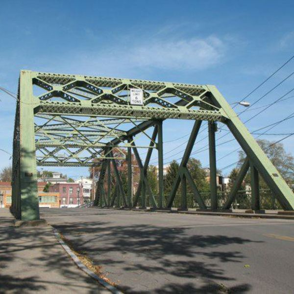 Bailey Bridge, Seneca Falls, New York